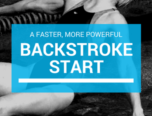 Unconventional Backstroke Start