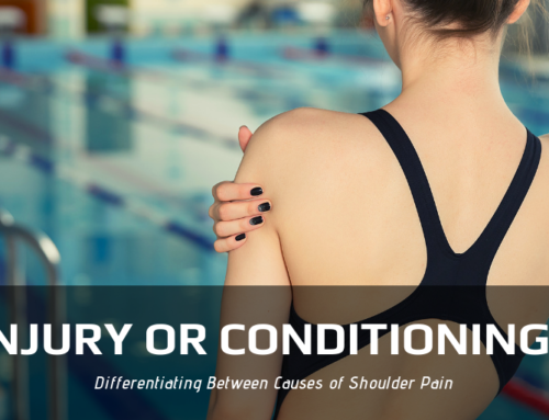 Is Your Shoulder Pain Caused by Injury or Conditioning?
