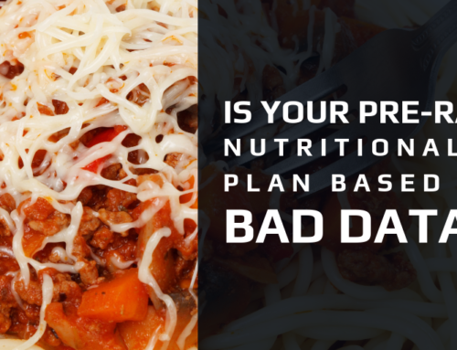 Is Your Pre-Race Nutritional Plan Based on Bad Data?